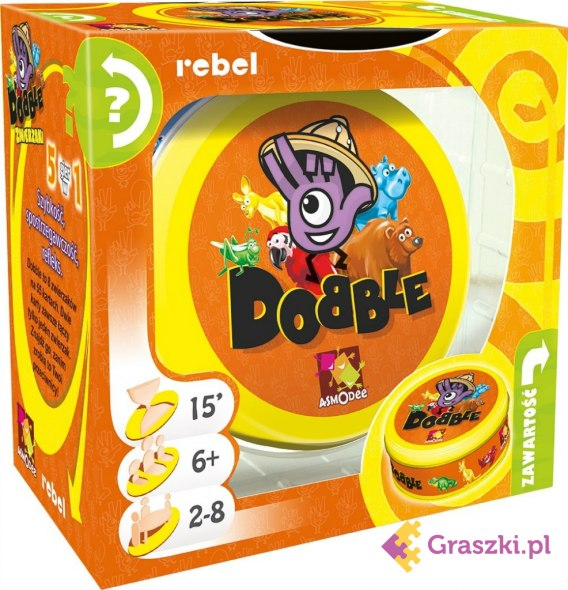 Dobble Zwierzaki | Rebel