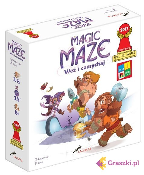 Magic Maze - Weź i czmychaj | Lacerta