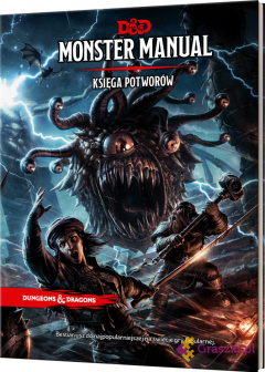 Dungeons & Dragons: Monster Manual (Księga Potworów) | Rebel