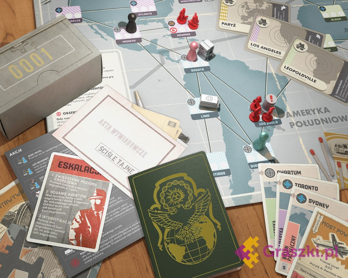 Pandemic Legacy: Sezon 0 karty