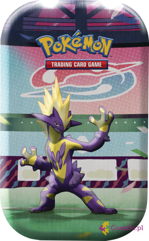 Pokemon TCG: Sword and Shield Mini Tin October Toxtricity