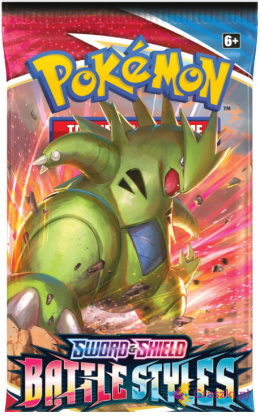Pokemon TCG: Battle Styles - BOOSTER Pack 10 kart